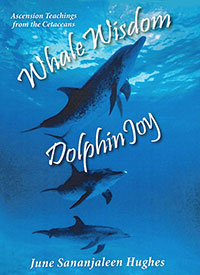 Whale Wisdom Dolphin Joy, by June Sananjaleen Hughes--cover